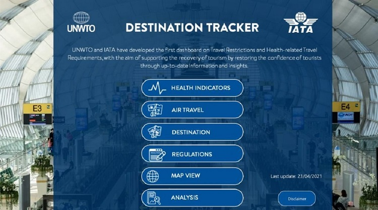 OMT-IATA-Destination Tracker